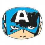 captain america buckle